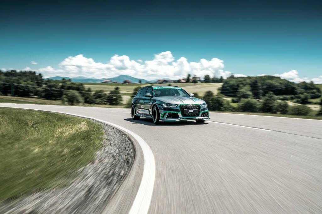 Mit seiner einzigartigen Batterielösung befeuert Kreisel Electric die neue ABT Audi RS6 Hybrid-Rakete; Fotocredit: ABT Sportsline GmbH, © Aussender (30.10.2018)