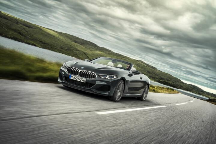 BMW Group in Österreich: Das neue BMW 8er Cabriolet; BMW setzt die Modelloffensive im Luxussegment fort: Der offenen Sportwagen erfüllt die höchsten Ansprüche in den Bereichen Fahrdynamik, Emotionalität und Exklusivität. Credit: BMW
