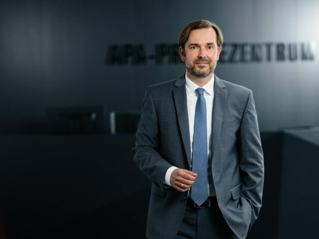 Das Branchenmagazin Der österreichische Journalist zeichnet APA-Geschäftsführer Clemens Pig als Medienmanager des Jahres aus. Credit: APA, © Aussender (06.11.2018)