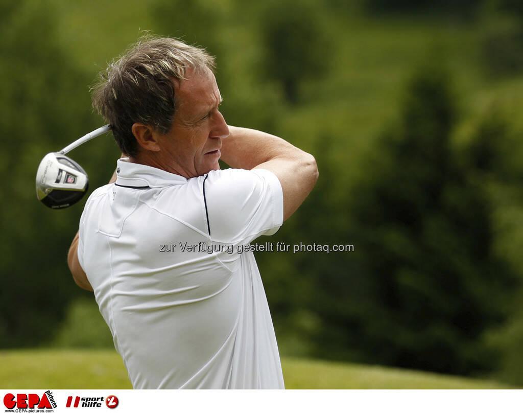Sporthilfe Golf Trophy, GCC Schladming. Klaus Lindenberger, Foto: GEPA pictures/ Harald Steiner (17.06.2013)