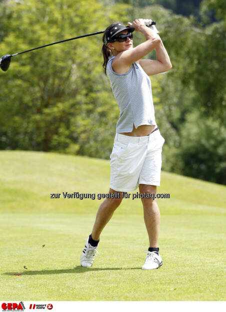 Sporthilfe Golf Trophy, GCC Schladming. Katharina Gutensohn, Foto: GEPA pictures/ Harald Steiner (17.06.2013)