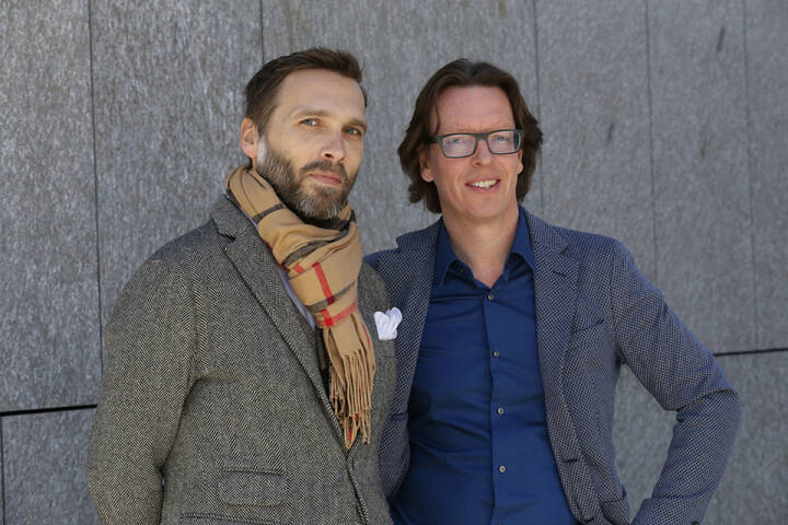 Die Geschäftsführer von NextFloor, Marcus Salzmann und Thomas Bodmer, bauen einen neuen Accelerator für Start-ups im Tourismus auf. Credit: Nextfloor