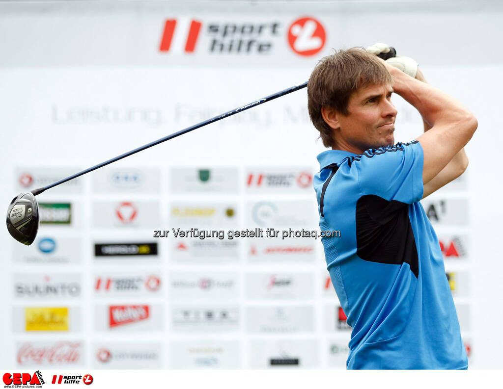 Sporthilfe Golf Trophy, GCC Schladming. Felix Gottwald, Foto: GEPA pictures/ Harald Steiner (17.06.2013)