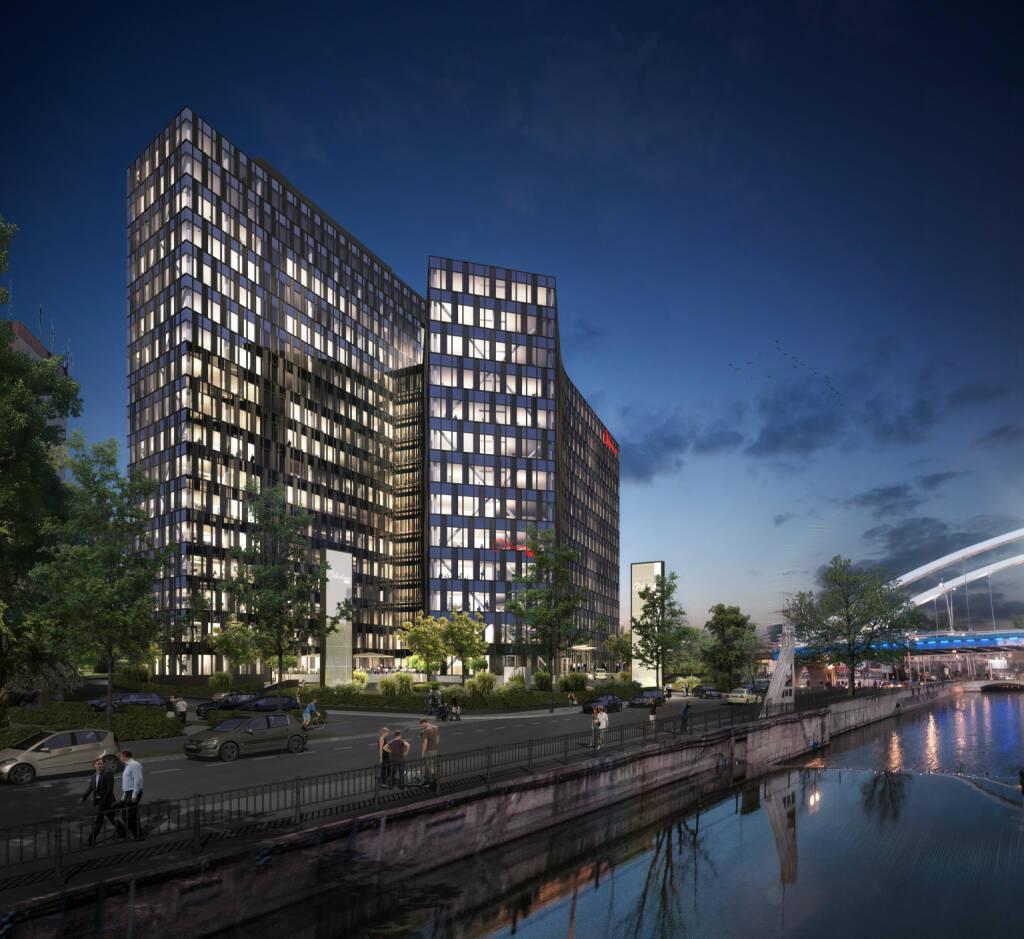CA Immobilien Anlagen AG: Die Vermietungsquote der Orhideea Towers in Bukarest (inklusive Flächenreservierungen für Ankermieter) liegt derzeit bei rund 90%, Credit: CA Immo (15.11.2018)