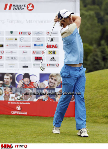Sporthilfe Golf Trophy, GCC Schladming. Gernot Schwab (AUT), Foto: GEPA pictures/ Harald Steiner (17.06.2013)