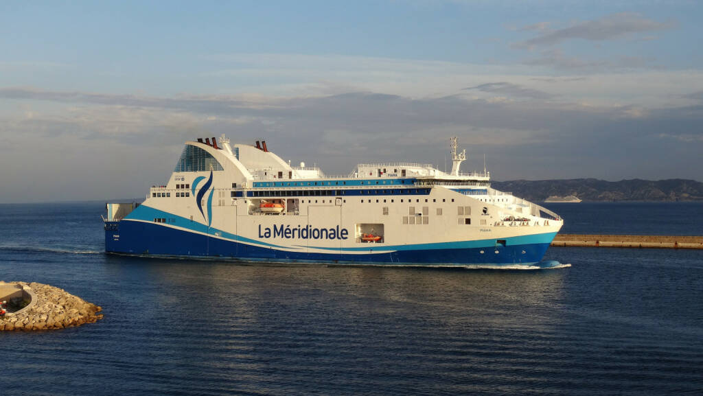 """Andritz mit Aufträgen aus der Schifffahrt. Im Bild: Roll-On Roll-Off-Schiff """"Piana""""; Quelle: andritz.com, © Aussender (20.11.2018)"""