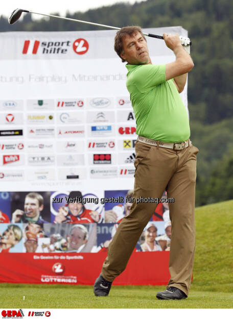Sporthilfe Golf Trophy, GCC Schladming. Helmut Hoeflehner, Foto: GEPA pictures/ Harald Steiner (17.06.2013)
