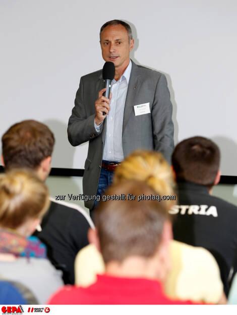 WIFI Sporthilfe Forum. Geschaeftsfuehrer Anton Schutti (Sporthilfe), Foto: GEPA pictures/ Harald Steiner (17.06.2013)