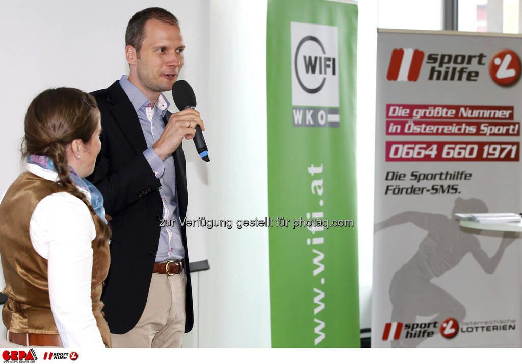 WIFI Sporthilfe Forum. Julia von Deines und Constantin von Deines (Falkensteiner), Foto: GEPA pictures/ Harald Steiner (17.06.2013)