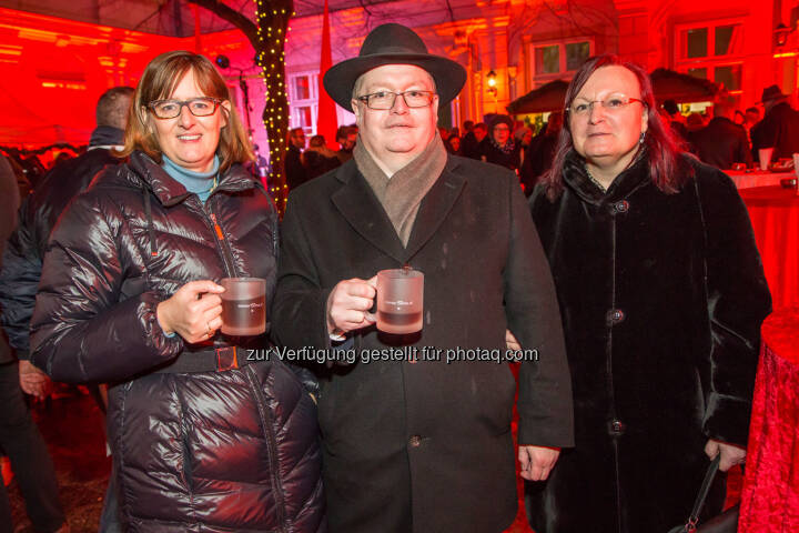 Henriette Lininger (Wiener Börse), Gregor & Yvette Rosinger (Rosinger Group)