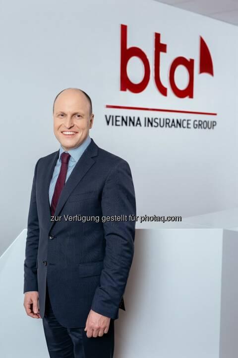 Wolfgang Stockmeyer ist neuer Vorstandsvorsitzender der BTA Baltic Insurance Company ASS (BTA), einer Konzerngesellschaft der Vienna Insurance Group (VIG). Credit: VIG