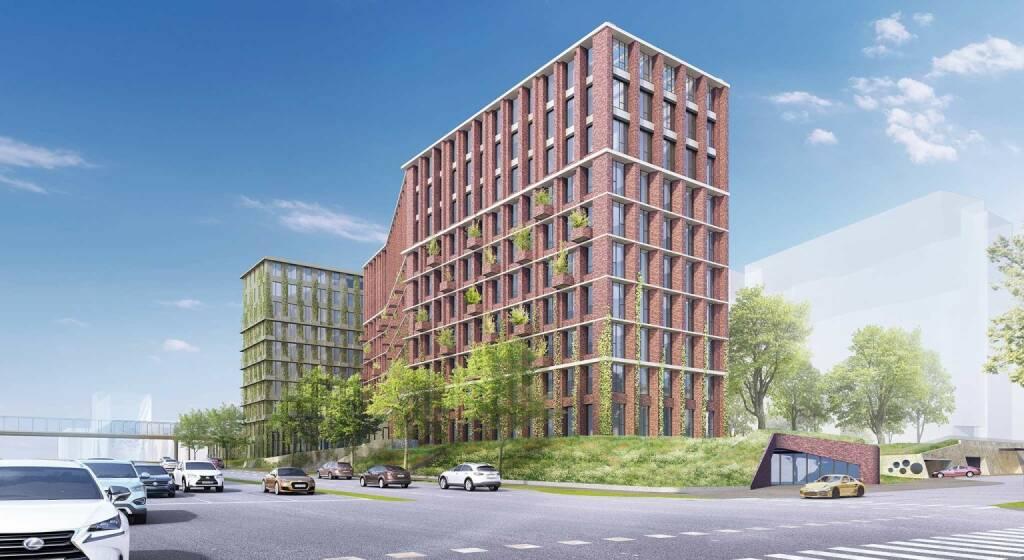 The Brick, Wiener Städtische kauft zukünftiges Wienerberger-Headquarter von Soravia, Bild-Quelle: soravia.at (04.12.2018)