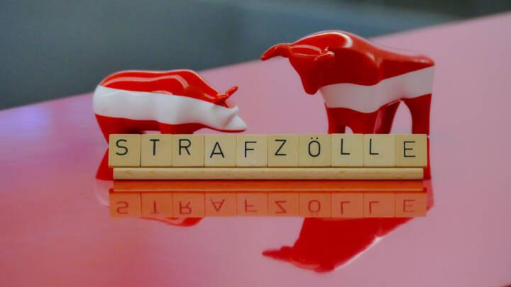 Börseunwort 2018: Strafzölle, Wiener Börse ; Credit: Wiener Börse