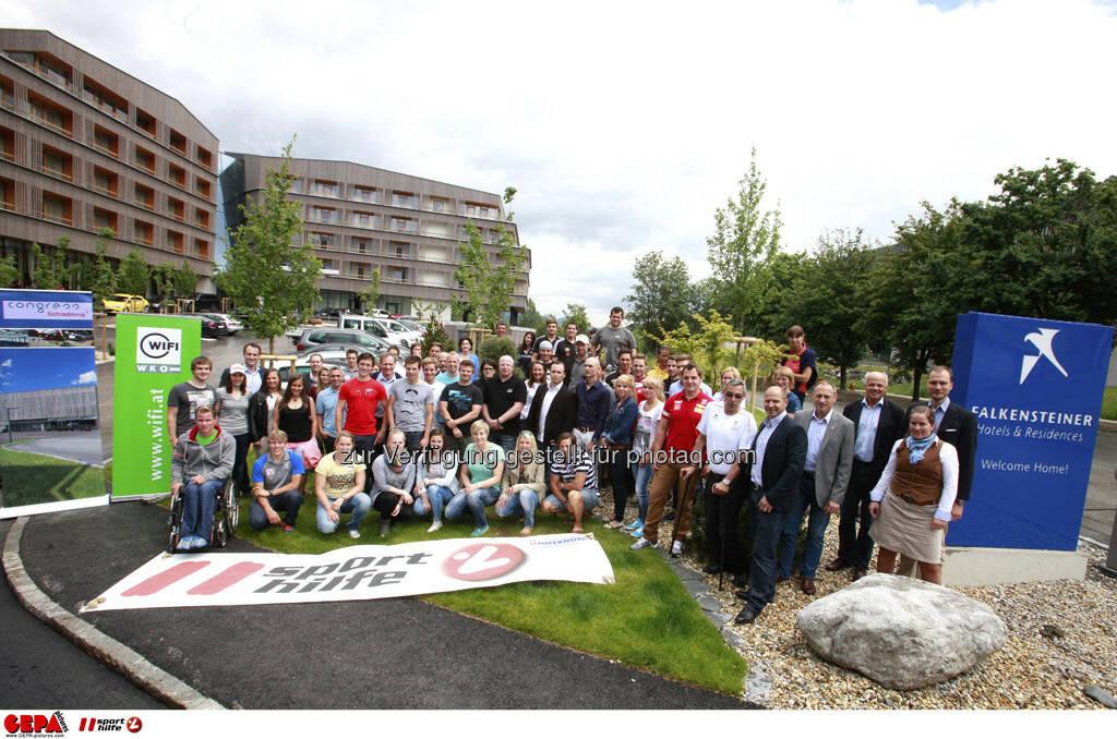 WIFI Sporthilfe Forum. Teilnehmer, Foto: GEPA pictures/ Harald Steiner (17.06.2013)
