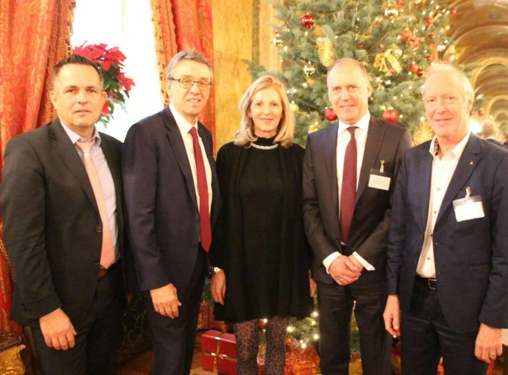 Family Office Capital Day: Felix Krekel (Coreo AG), Harald Hagenauer (Post AG), Sabine Duchaczek (Advantage) (08.12.2018)
