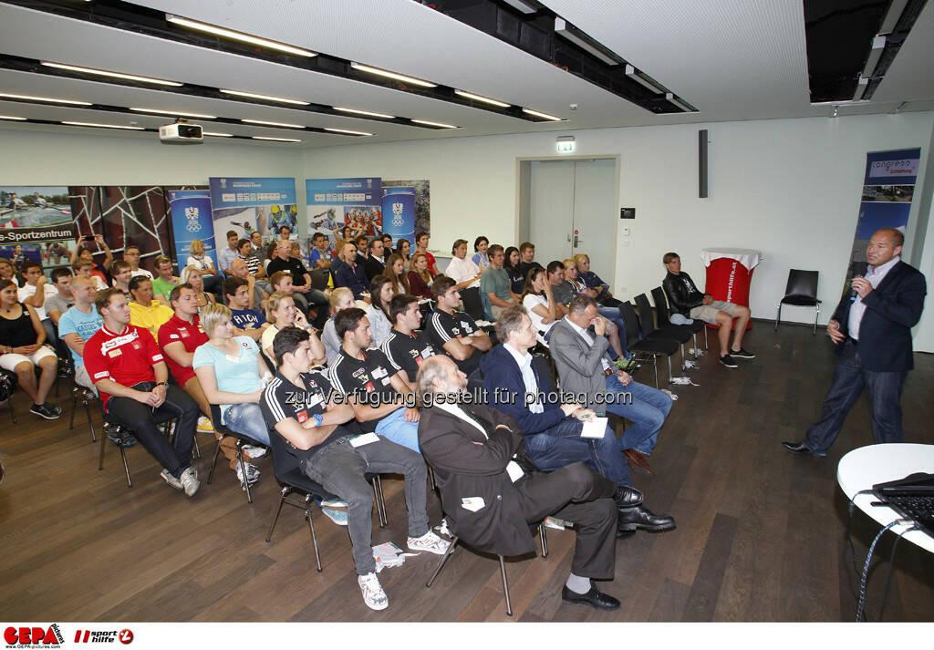 WIFI Sporthilfe Forum. Uebersicht mit den Teilnehmern und Marc Girardelli, Foto: GEPA pictures/ Harald Steiner (17.06.2013)