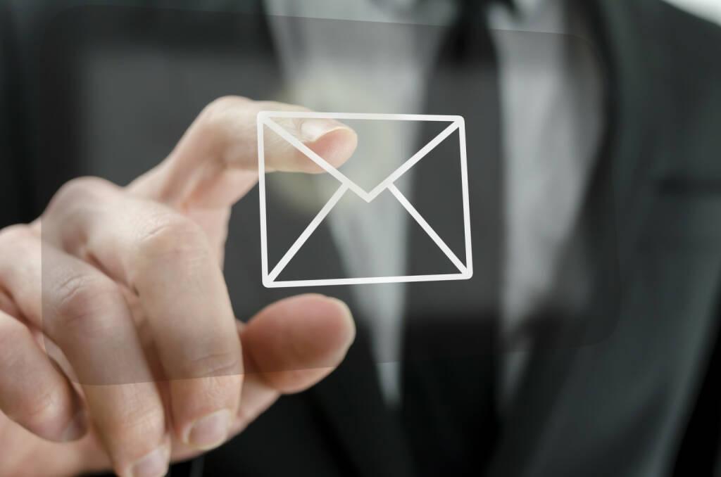 Email, E-Mail, Brief - https://de.depositphotos.com/22885616/stock-photo-businessman-touching-email-icon.html, &copy; <a href=