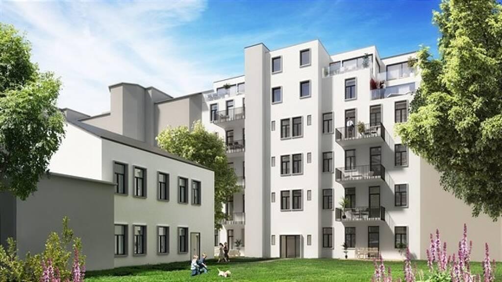 Bei Home Rocket, Österreichs erster international tätiger Crowdinvesting-Plattform für Immobilien, investierte die Crowd bereits rund 16 Mio. Euro Ein neues Portfolio-Modell auf KG-Basis ermöglicht es Bauträgern, mehrere Projekte zusammenzufassen und größere Summen einzuwerben. Von den attraktiven Konditionen profitieren auch die Anleger. Im Bild: Wehrgasse 6 Copyright: Architekturbüro Dominik Staudinger ZT GmbH (18.12.2018)