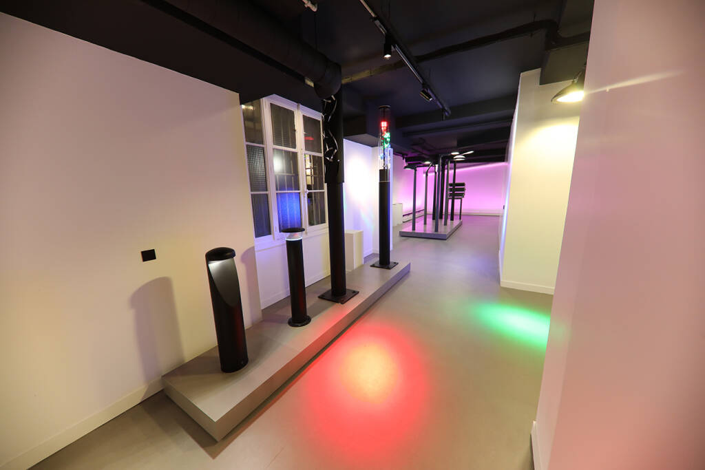 Neues Lichtzentrum auf 450 m2 neben der Niederlassung im Herzen von Paris. Im neuen Lichtzentrum präsentiert die Zumtobel Group in unterschiedlichen Ausstellungsbereichen die Kompetenz der starken Marken Zumtobel und Thorn. Credit: Zumtobel (19.12.2018)