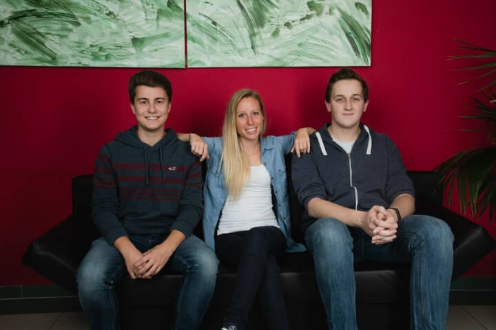 Die innovativsten Geschäftsideen heimischer FH-Studierender und -AbsolventInnen werden im CPI-Programm gefördert, Teams STP, copyright FH St. Pölten, Fabian Altphart