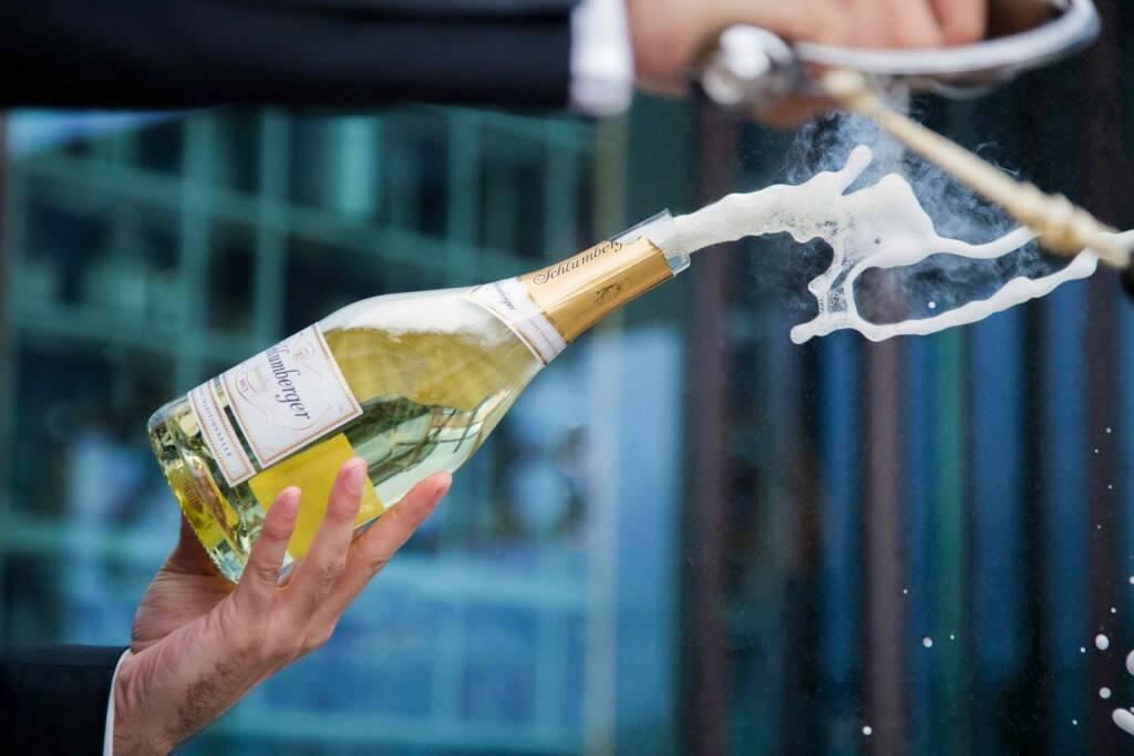 Schlumberger Wein- und Sektkellerei GesmbH: 2 Millionen Sektkorken knallen zu Silvester in Österreich; Fotocredit:Schlumberger, © Aussender (30.12.2018)