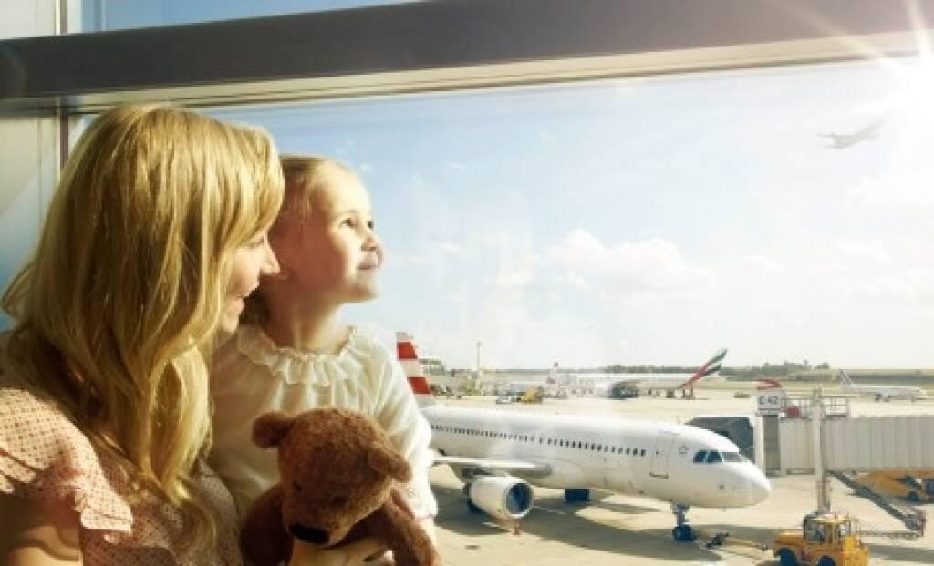 Flughafen Wien, Besucher, Credit: Flughafen Wien, © Aussender (07.01.2019)