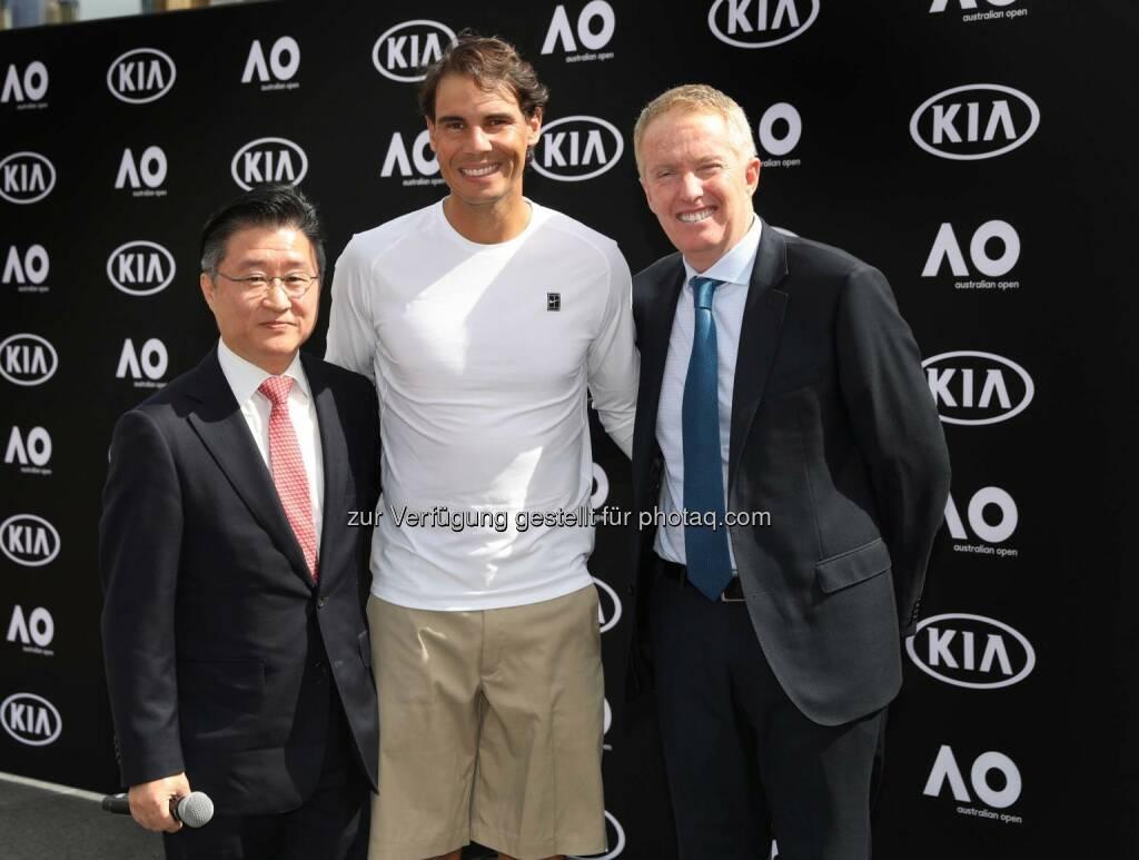 Kia Austria drückt Dominic Thiem die Daumen (10.01.2019)