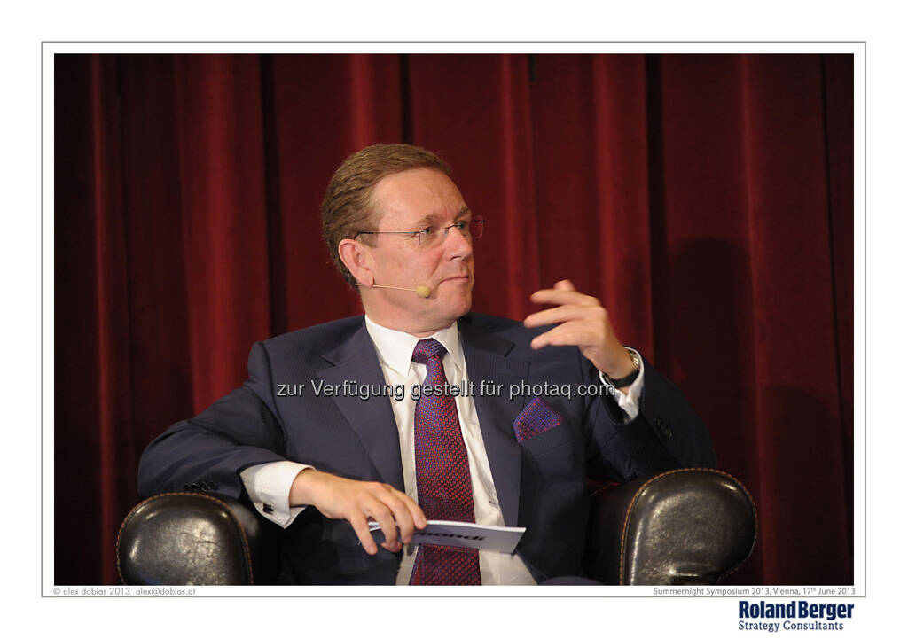 Peter J. Oswald, Executive Member of the Mondi Group Boards, CEO Europe & International, © Copyright Roland Berger Strategy Consultants, alex dobias 2013 alex@dobias.at (18.06.2013)