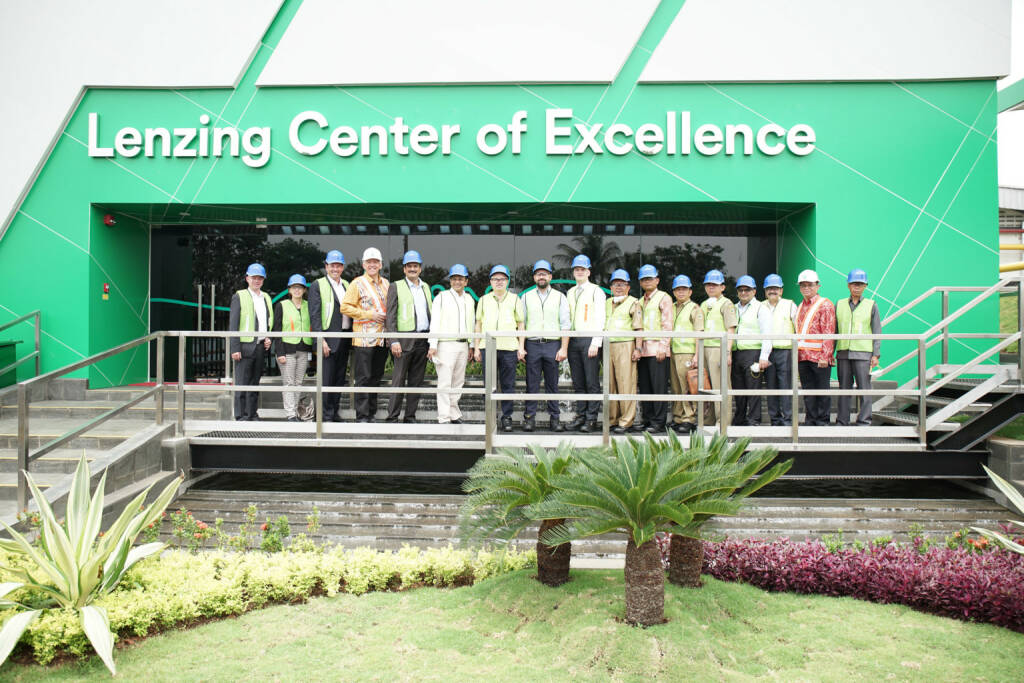 Die Lenzing Gruppe eröffnete am indonesischen Produktionsstandort Purwakarta eine neues Innovationszentrum, das Lenzing Center of Excellence; Credit: Lenzing, © Aussender (15.01.2019)