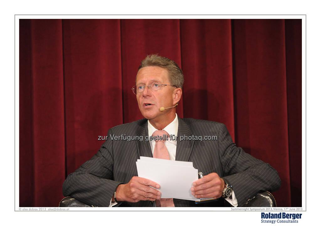 Roland Falb, Managing Partner, Roland Berger Strategy Consultants, © Copyright Roland Berger Strategy Consultants, alex dobias 2013 alex@dobias.at (18.06.2013)