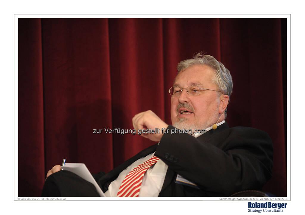 Klaus Gretschmann, Director-General (i.e.R.), EU Council of Ministers, © Copyright Roland Berger Strategy Consultants, alex dobias 2013 alex@dobias.at (18.06.2013)