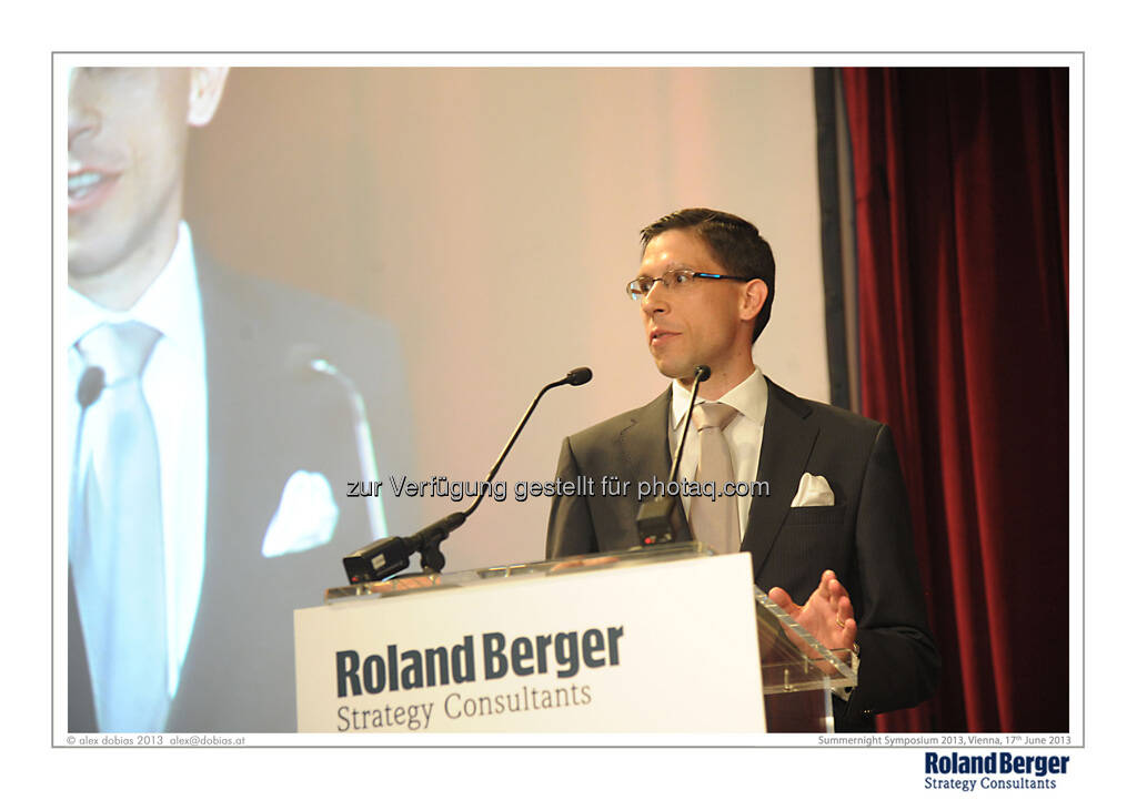 Rupert Petry, Managing Partner, Roland Berger Strategy Consultants, © Copyright Roland Berger Strategy Consultants, alex dobias 2013 alex@dobias.at (18.06.2013)