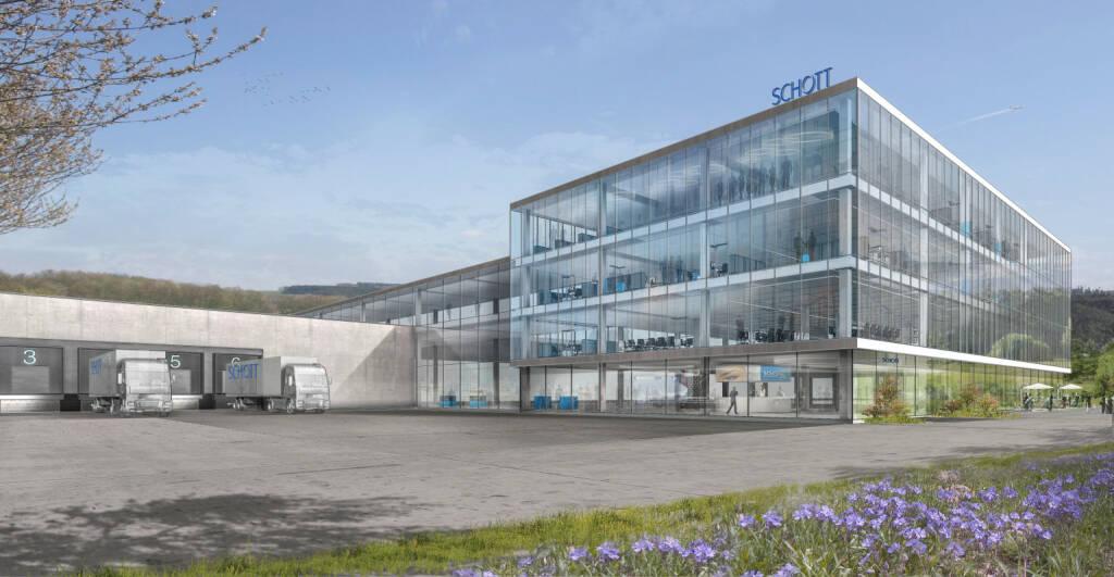 SCHOTT baut seine Fertigung für Pharmaverpackungen in Müllheim aus. Anfang 2020 ist der Spatenstich für ein neues Werk für Polymerspritzen geplant. Fotocredit:SCHOTT AG, © Aussender (17.01.2019)