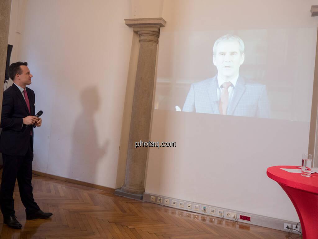 Christoph Boschan, Finanzminister Hartwig Löger (21.01.2019)