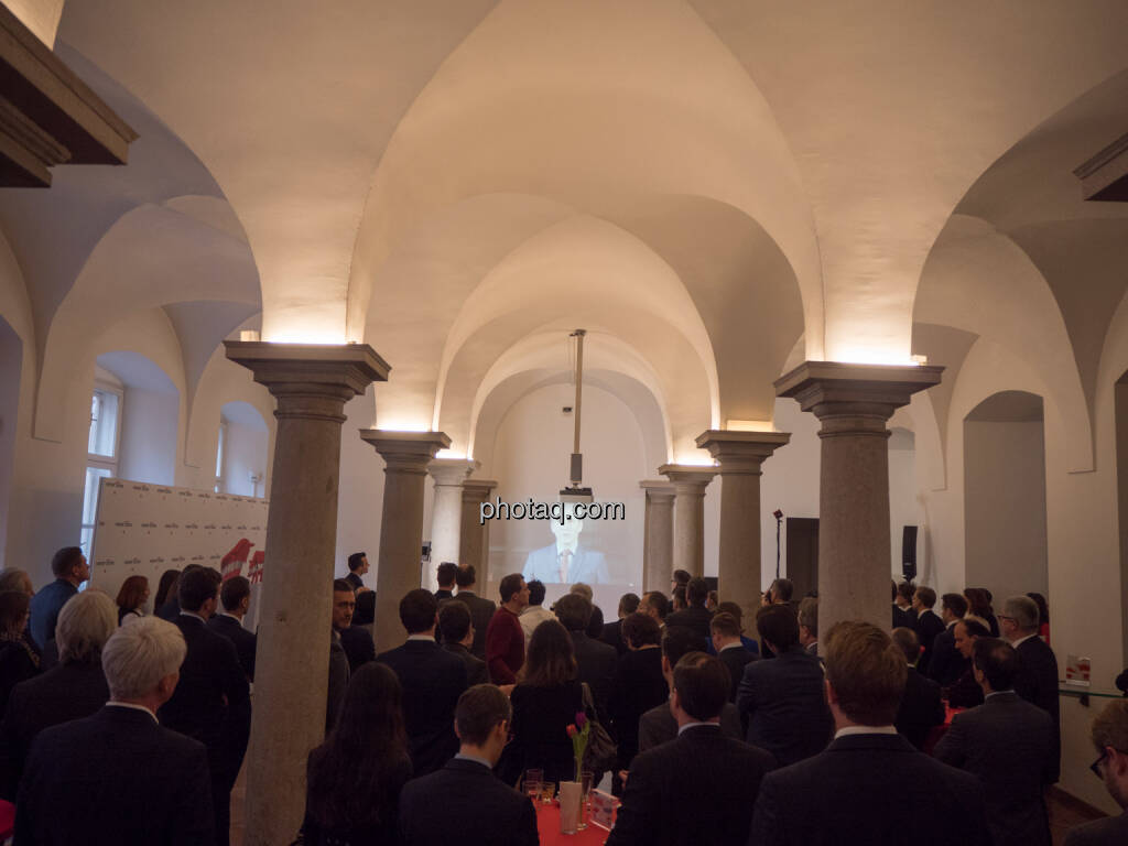 Finanzminister Hartwig Löger, Säulenhalle, Video (21.01.2019)