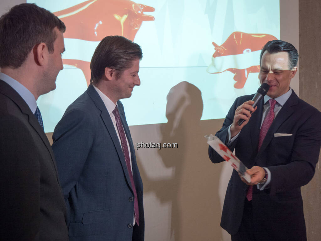 Bernd Ackerl, Kamil Kowalewski, VST Building Technologies AG, Christoph Boschan, direct market plus (21.01.2019)