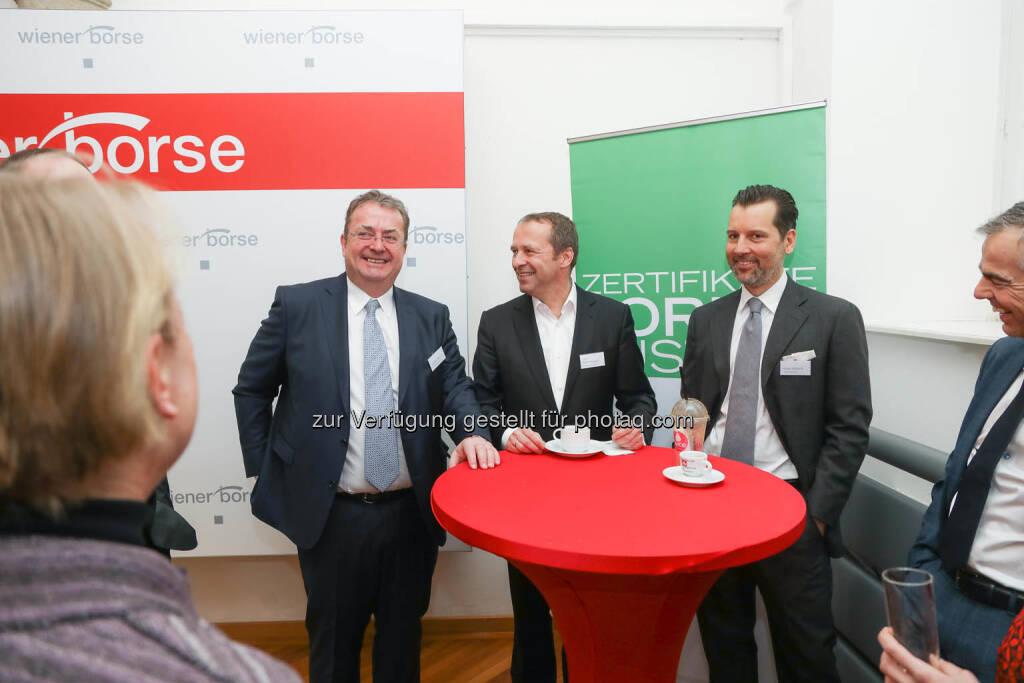Frank Weingarts, Andre Albrecht, UniCredit onemarket (mitte), © Zertifikate Forum Austria/APA-Fotoservice/Tanzer Fotograf/in: Richard Tanzer (23.01.2019)