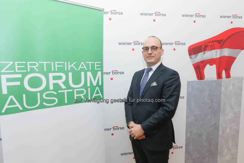 Thomas Wulf (Generalsekretär EUSIPA), © Zertifikate Forum Austria/APA-Fotoservice/Tanzer Fotograf/in: Richard Tanzer (23.01.2019)