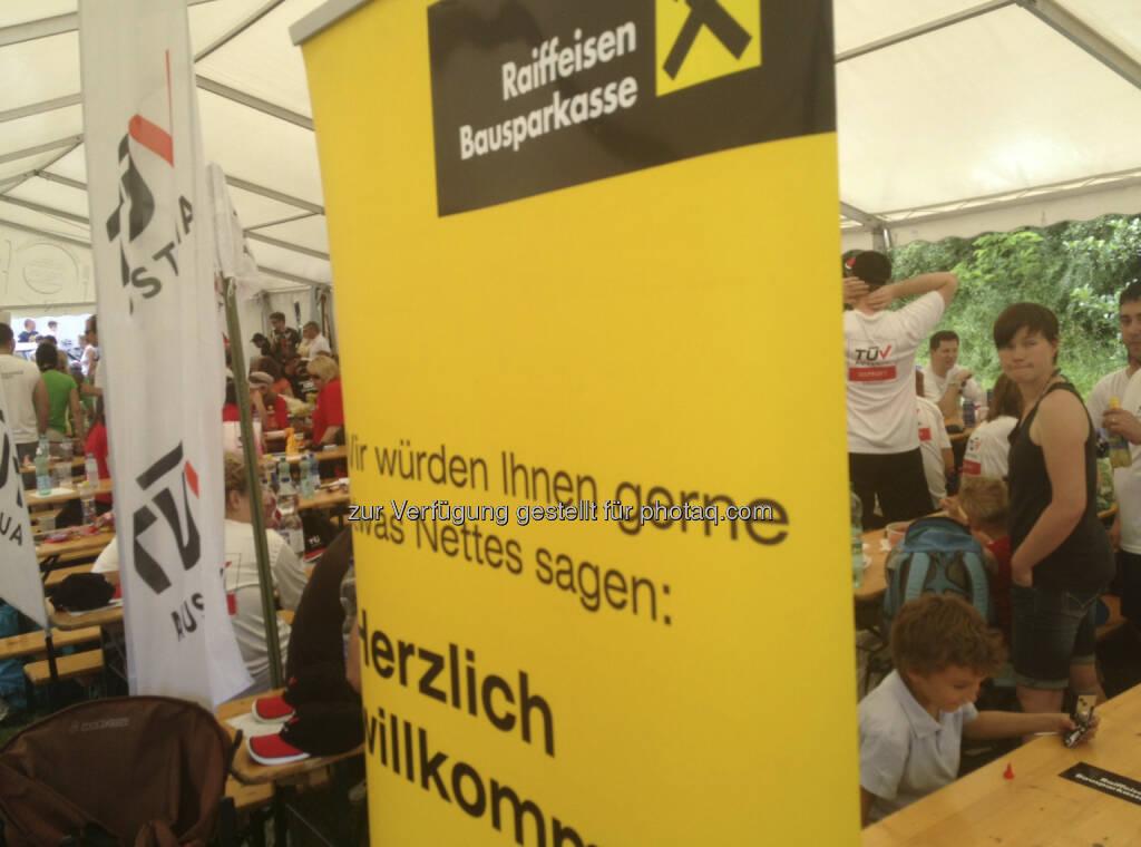 Drachenboot Cup 2013: Raiffeisen (19.06.2013)