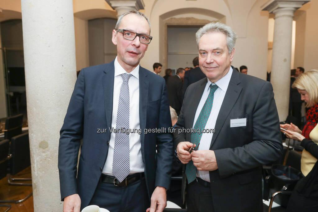 Willi Celeda (RCB), Bernhard Grabmayr (Scholdan), © Zertifikate Forum Austria/APA-Fotoservice/Tanzer Fotograf/in: Richard Tanzer (23.01.2019)