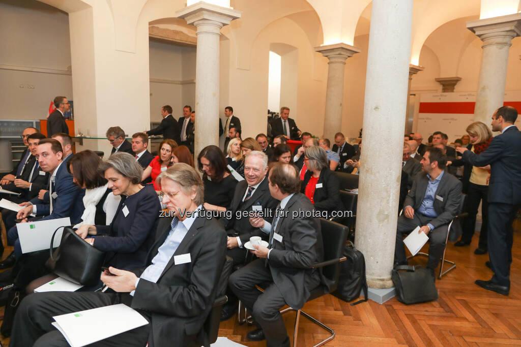 Zertifikate Jahresauftakt, Säulenhalle, © Zertifikate Forum Austria/APA-Fotoservice/Tanzer Fotograf/in: Richard Tanzer (23.01.2019)