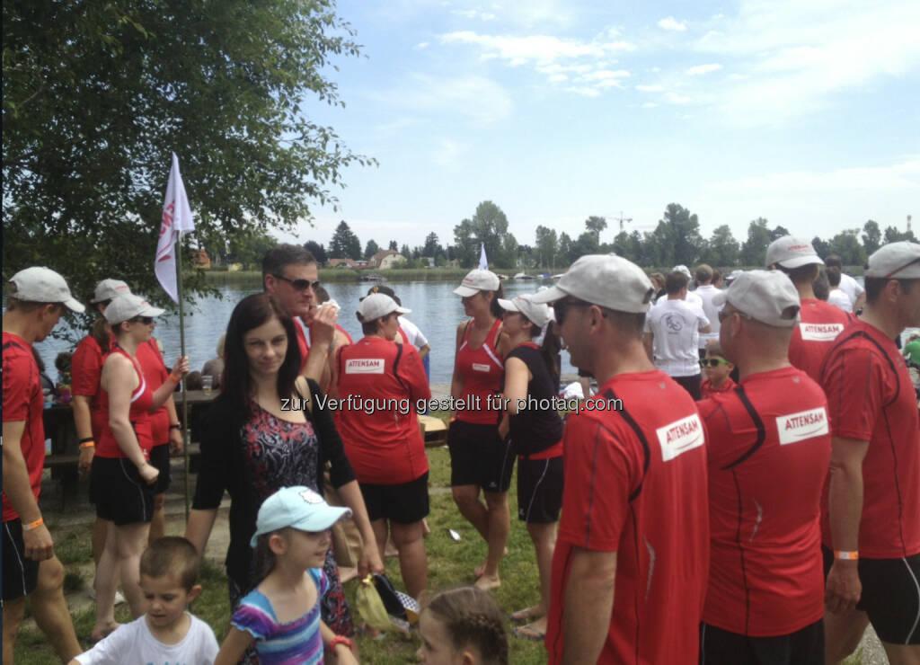 Drachenboot Cup 2013: Attensam (19.06.2013)