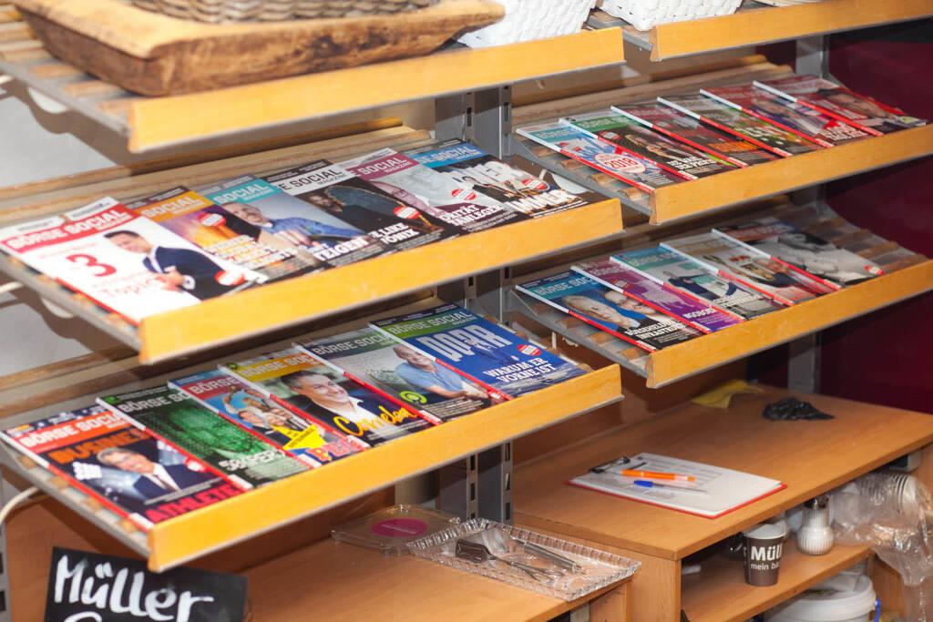 Börse Social Magazine, Ausgaben, &copy; <a href=