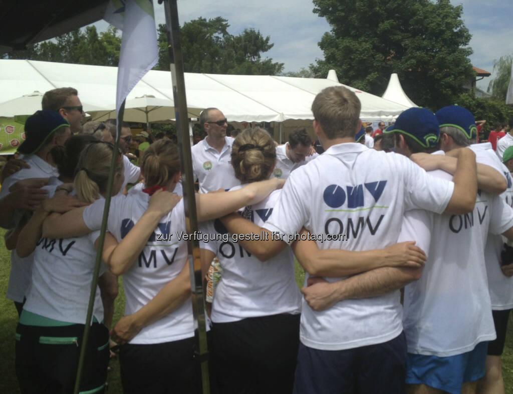 Drachenboot Cup 2013: OMV (19.06.2013)