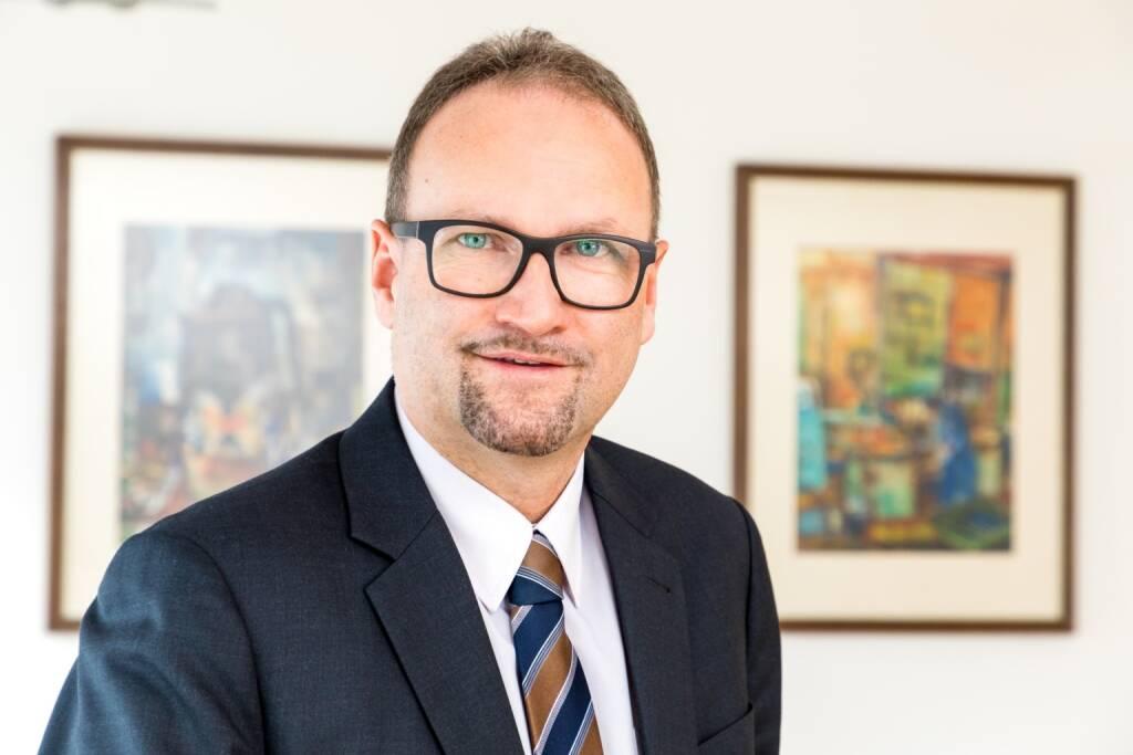 """voestalpine, Jürgen Resch, CFO und Leiter des Geschäftsbereiches """"Warehouse and Rack Solutions"""" in der Metal Forming Division, Credit: voestalpine (31.01.2019)"""
