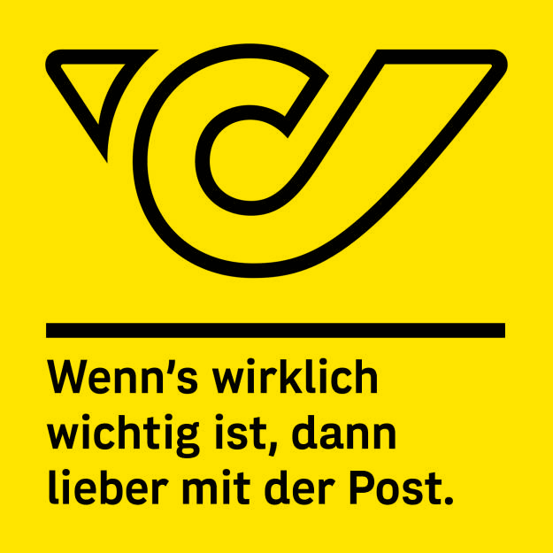 Post in neuem Look, Logo, Claim, Credit: Post (01.02.2019)