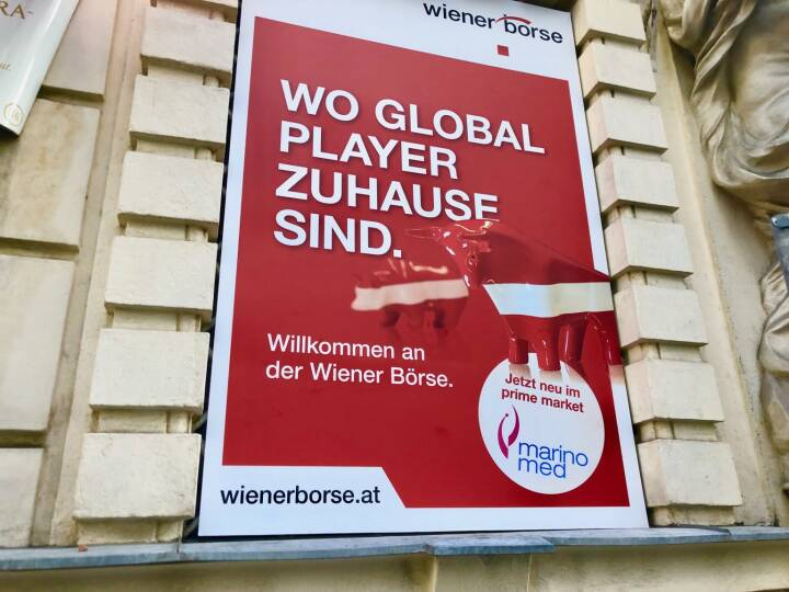 Marinomed Börsegang 1.2.2019 - Wiener Börse - Wo Global Player zuhause sind, Willkommen