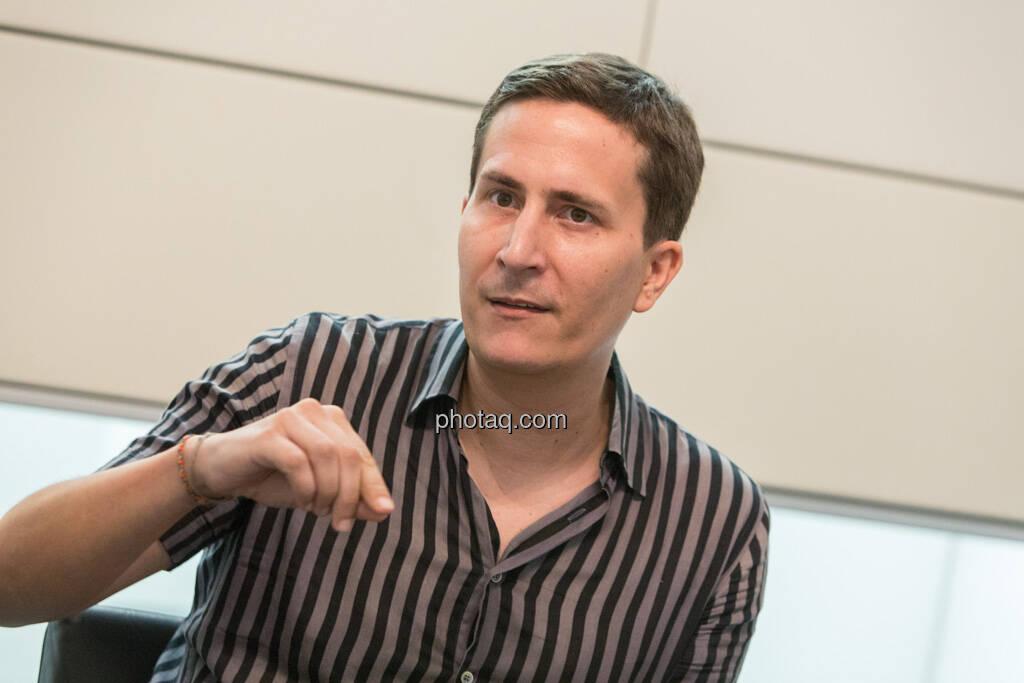 Robert Zikmund (FM4), © finanzmarktfoto.at/Martina Draper (19.06.2013)