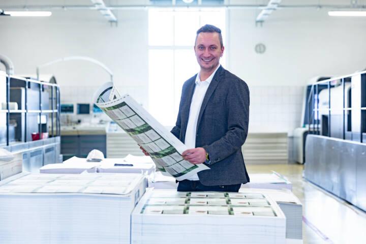 Heinz Petelin leitet künftig den Bereich Qualitätsmanagement im Salzburger Unternehmen Samson Druck. Bildquelle: Samson Druck