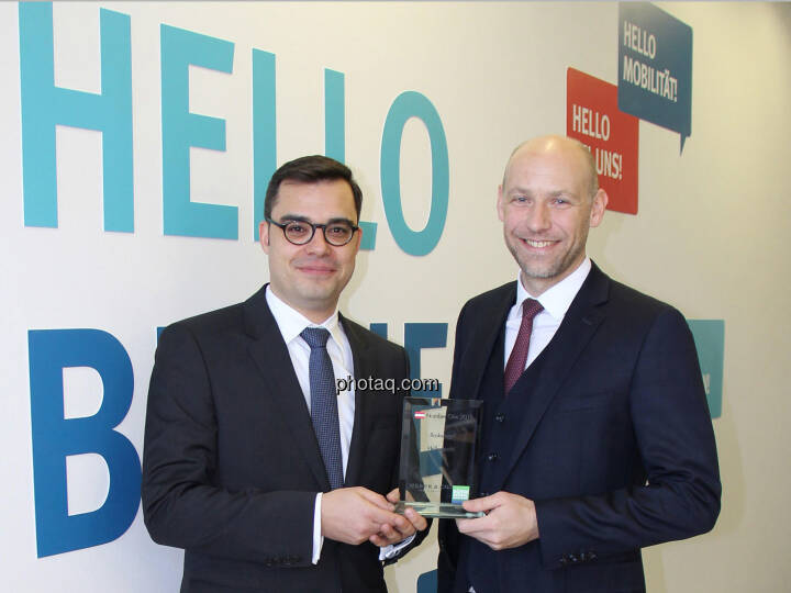 Markus Niederreiner, Walter Larionows (Hello bank!) - Number One Awards 2018 - Brokerage Hello bank!